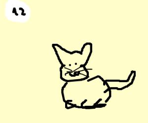 Panel 12 has cats!