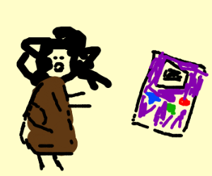 caveman discovers gameboy color