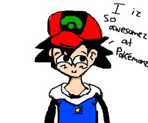 I am awesome at Pokemon Hero
