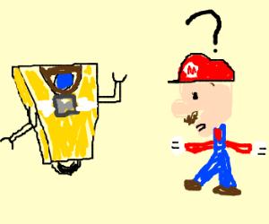 Claptrap meets Mario