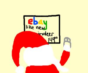 Santa uses Ebay