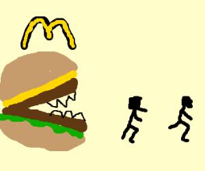 Big Mac doesn't like the taste of people