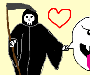 Death and his BFF