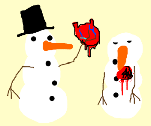 Frosty the Snowman Finds Love