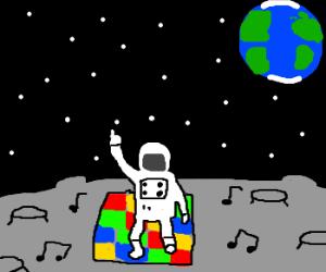 DIsco on the moon