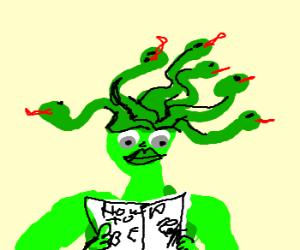 medusa the goddess reading beauty tips