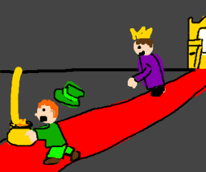Leprechaun steals king's gold to grant a wish.