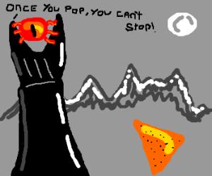 Sauron buys nachos
