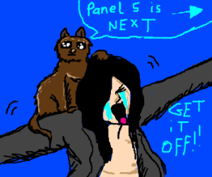 hi!! kitty!! oh, hey You, you are panel 4