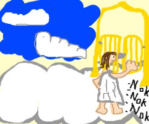 knock knock knockin on heavens door