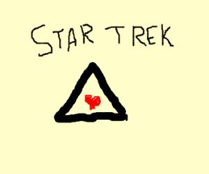 Star Trek love triangle.