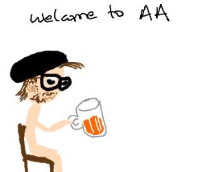 Luig goes to AA
