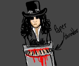 Slash is shredding.