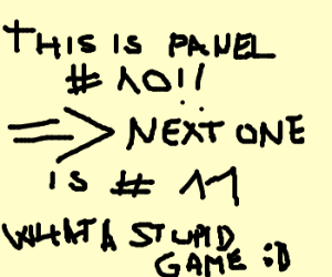 This is panel #9. You're #10.