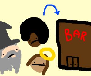 So Jesus, Oprah, and Dumbledore walk into a bar...