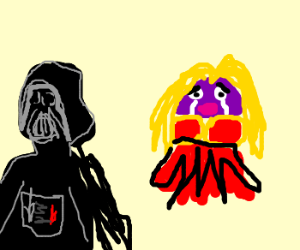 Jynx gets turned down by Darth Vader