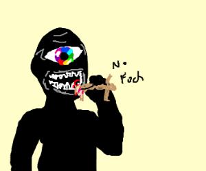 Man eaten by terrifying monster