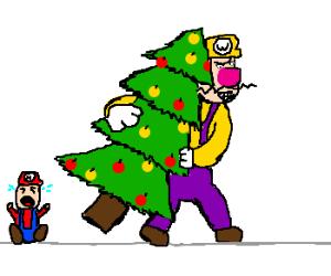 The Wario stole Christmas