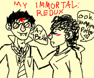 Harry gets with Bellatrix in worst fanfiction ever