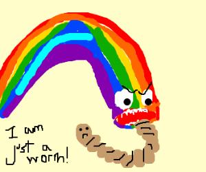 Rainbow Eating Worm