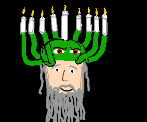 Cthulhu hats for Chanukkah