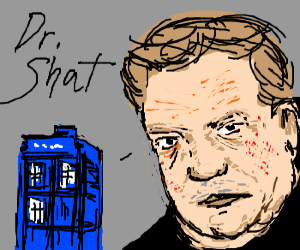 William Shatner as the next Dr. Who