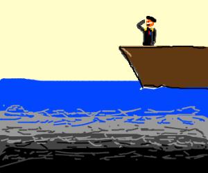 Nemo touches the Boat