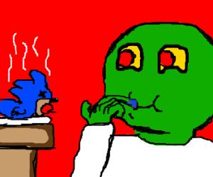 Sonic is FINGER LICKING GOOD!