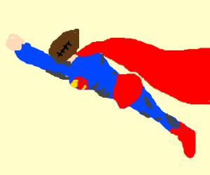 Football-headed Superman