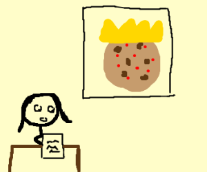 News: biscuit with pimples becomes king!
