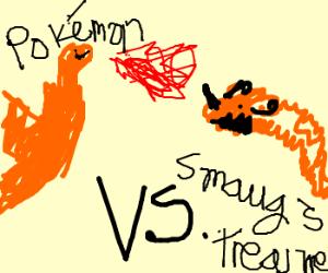 Charizard vs Smaug