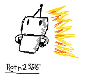 Proud Birthday Robot Burns