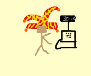 Cashier Jester
