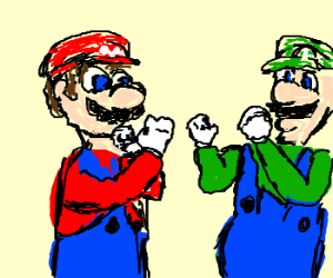 Mario Bros. Sibling Rivalry
