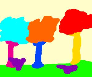 Gummy forest