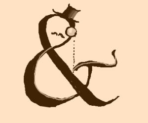 Ampersand is a sir