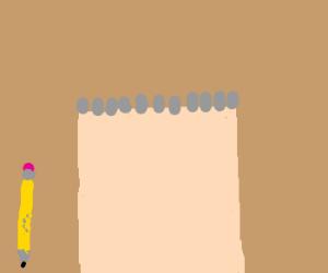 blank drawing