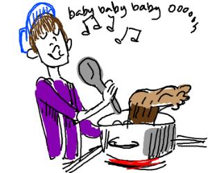 Justin beiber perparing bigfoot stew