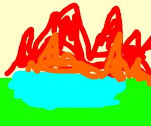 swamp is on fire go home the interwebs is over