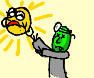 Sun suffers panic attack at zombie dentists