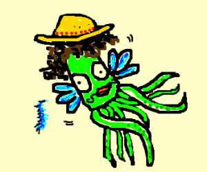 Jewish-Mexican squid-bird