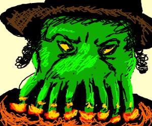 Angry CthulMenora