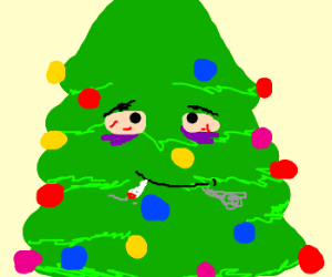 Chrismas tree on drugs