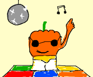 The great pumpkin takes to the disco