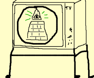 TV is controlled by the illuminati