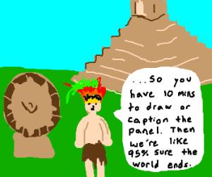 Mayan version of Drawception.