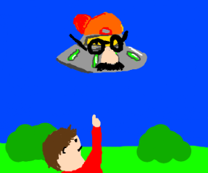 UFO in bad disguise