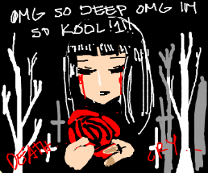 Blood Crying Gothic