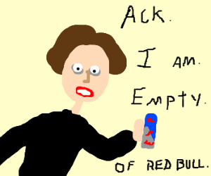 ChristopherWalken needs more RedBull! Oh Yeah!