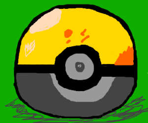 Awesome looking Pokéball